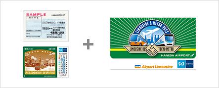 Limousine & Metro Pass (via Haneda Airport)