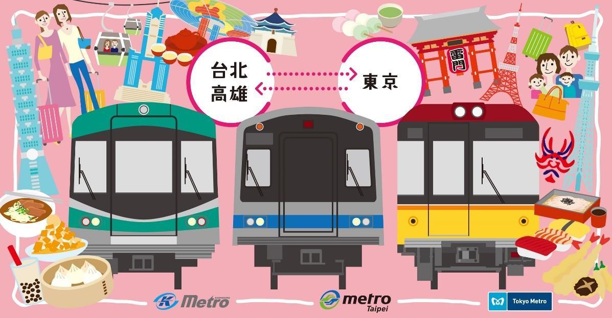 好好(hao hao)Metro Present Campaign in Tokyo, Taipei, and