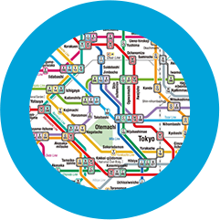 Subway Map For All Of Tokyo English.Tokyo Metro Home