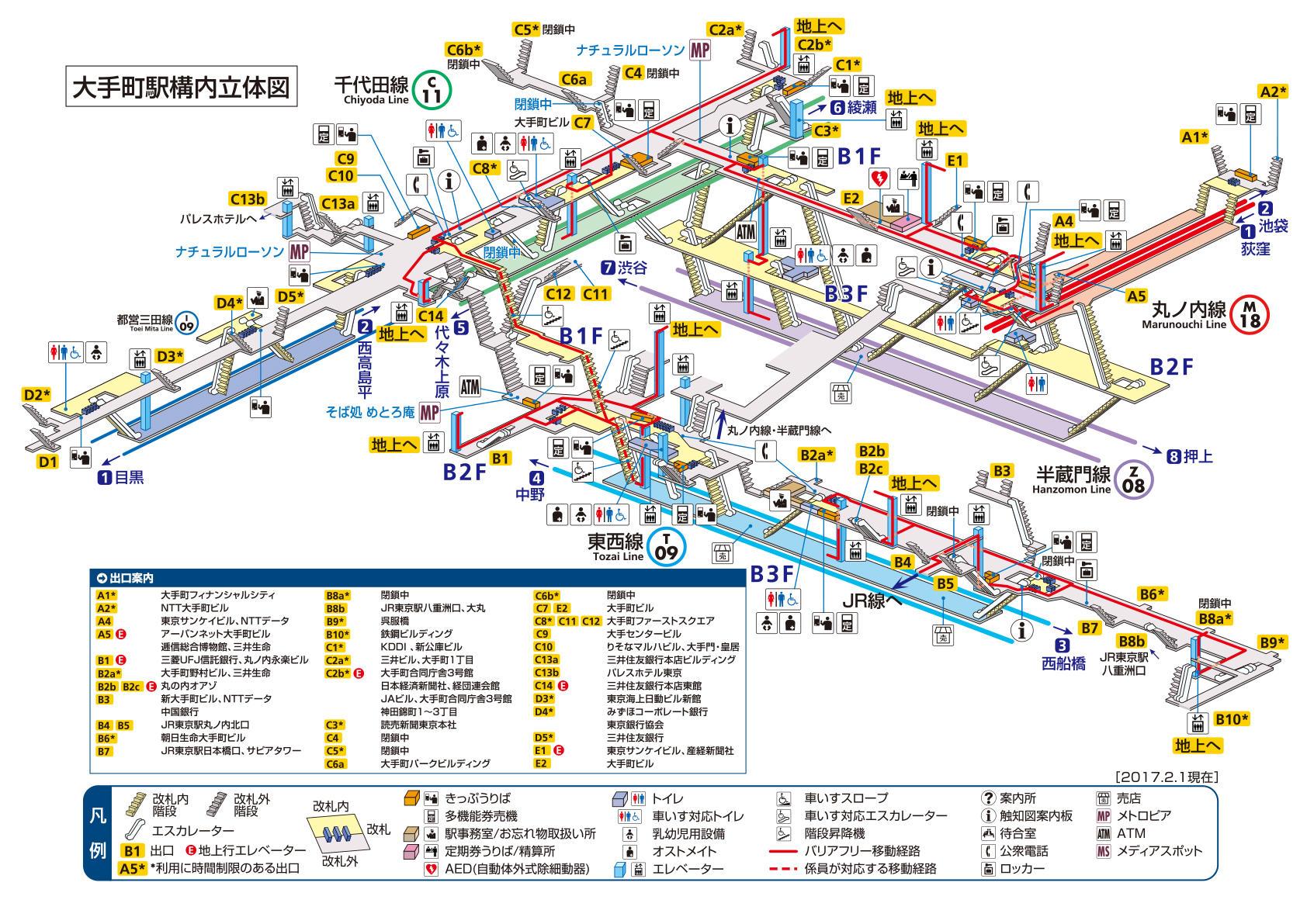 竹橋駅の駅周辺情報 - Yahoo!路線情報