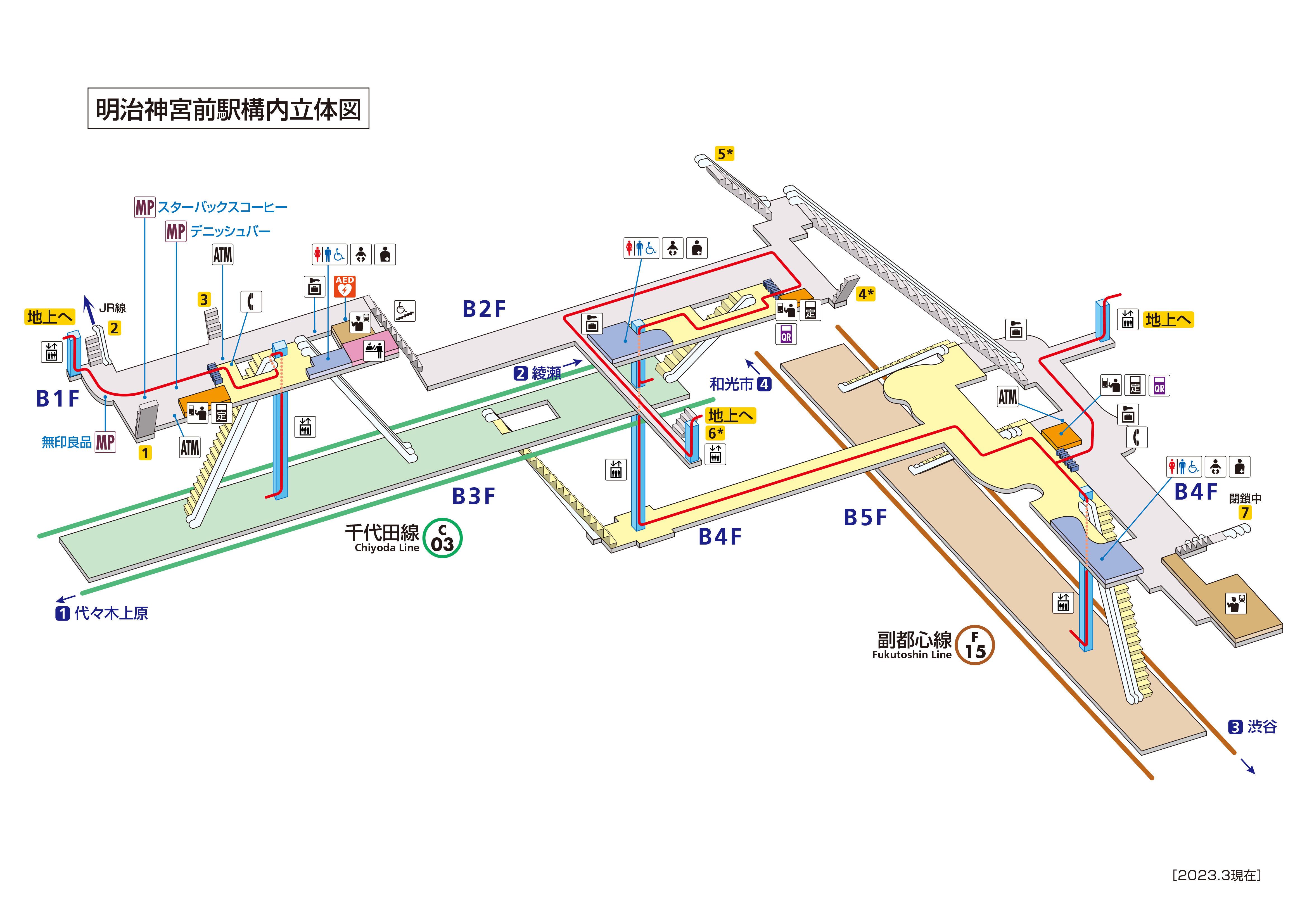 駅 ナカ 表参道